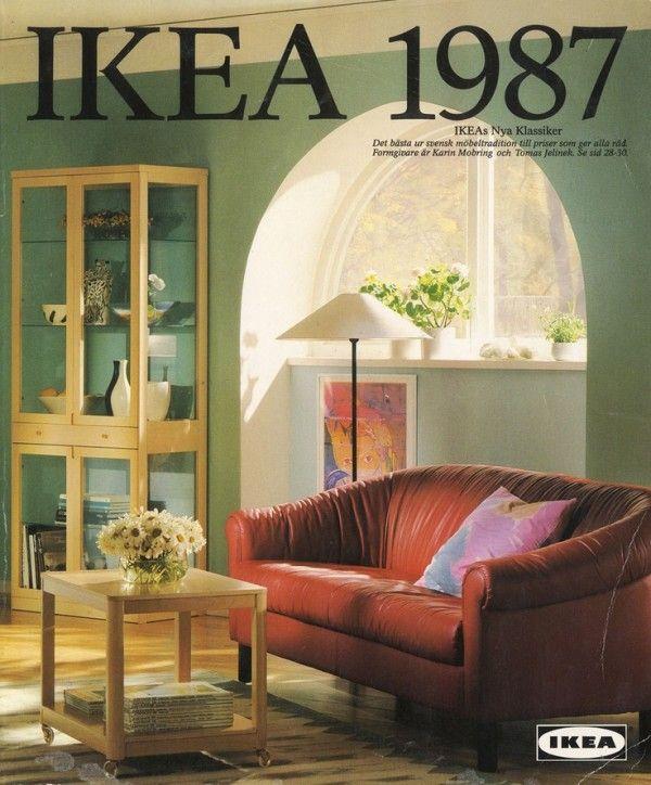 old ikea catalogue cover, 1987