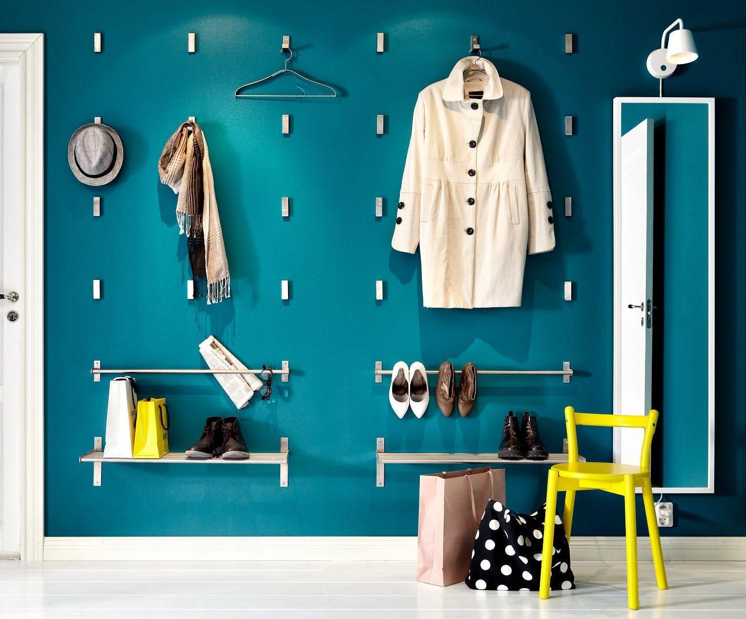 Modern hallway storage ideas  Brilliant u Beautiful  New Ways to Hang Coat Hooks  entryway