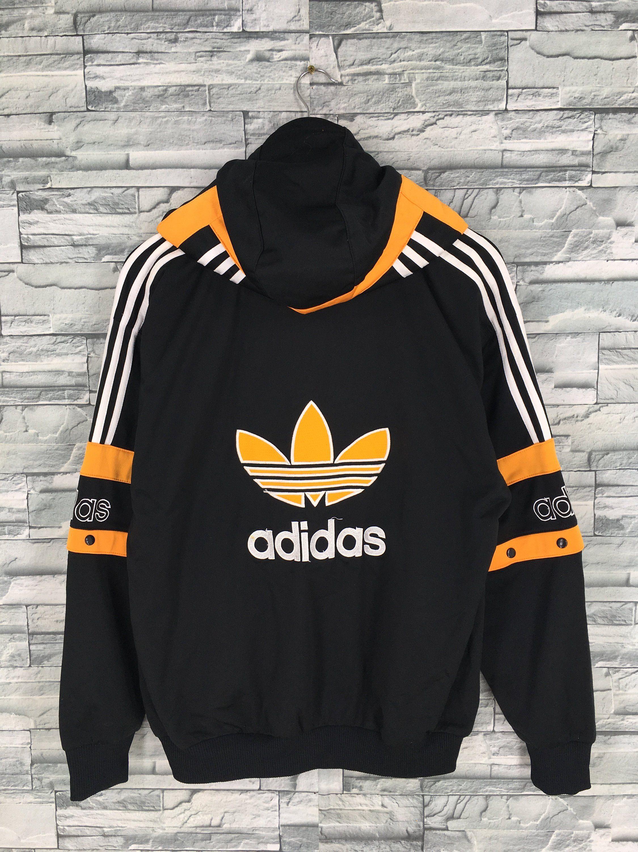 clothing #jacket #adidassweater #adidasjumper #adidastrefoil