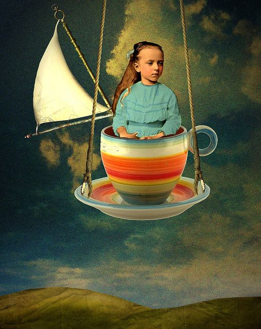 Artist Inspiration - Catrin Welz-Stein (Arno) - STORM IN A TEACUP by Ozstuff1, via Flickr