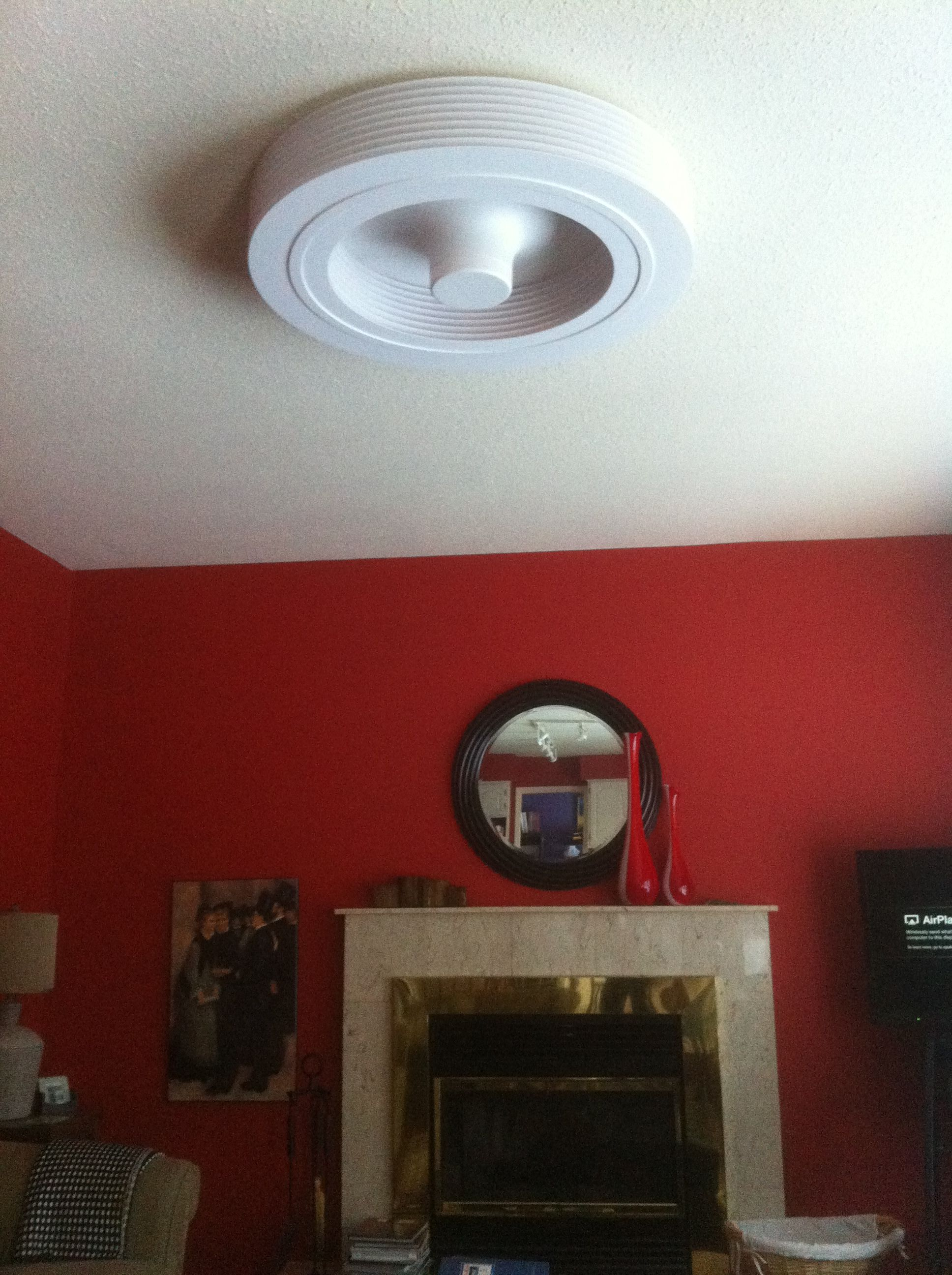 Bladeless Ceiling Fan bladeless ceiling fan install! | exhale fans owners club