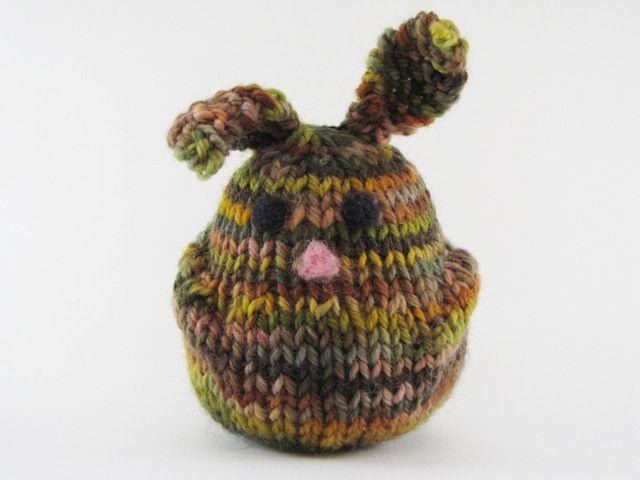 Floppy Ears Bun Bun Rabbit Looks Like A Very Easy Knit Pattern
