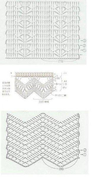 """Mis Pasatiempos Amo el Crochet: Falda entre dos """"Tela y tejido"""""""