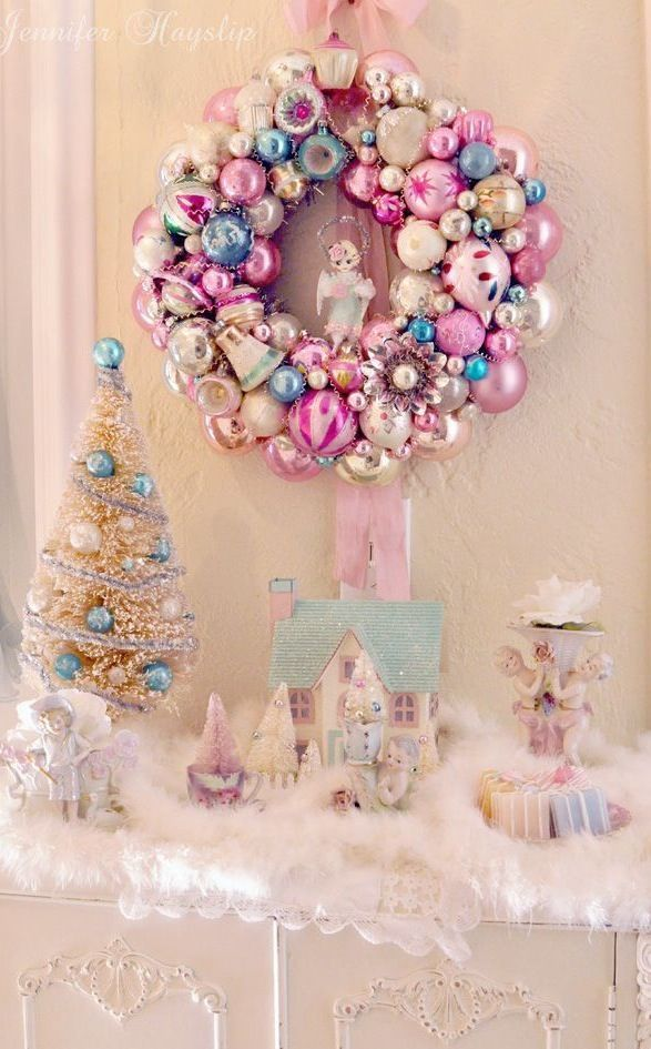 Pastel Christmas The Best Of Pinterest Pink Christmas Christmas