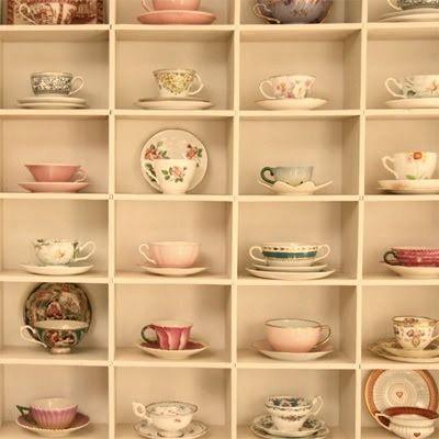Lots of cute teacups <3