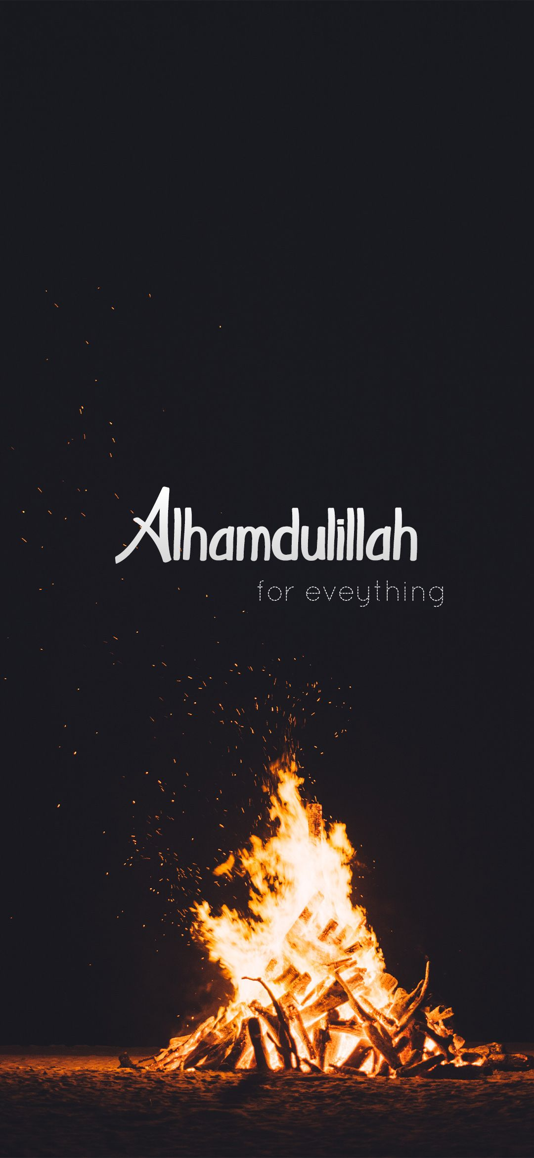 Alhumdulilah For Everything Hd Wallpaper Islamic Wallpaper Iphone Islamic Quotes Wallpaper Islamic Wallpaper Hd