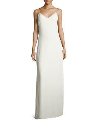 3cac9598b0a Sleeveless+Velvet+Slip+Gown