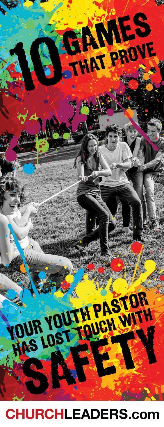 10 Church Games That Prove Your Youth Pastor Has Totally