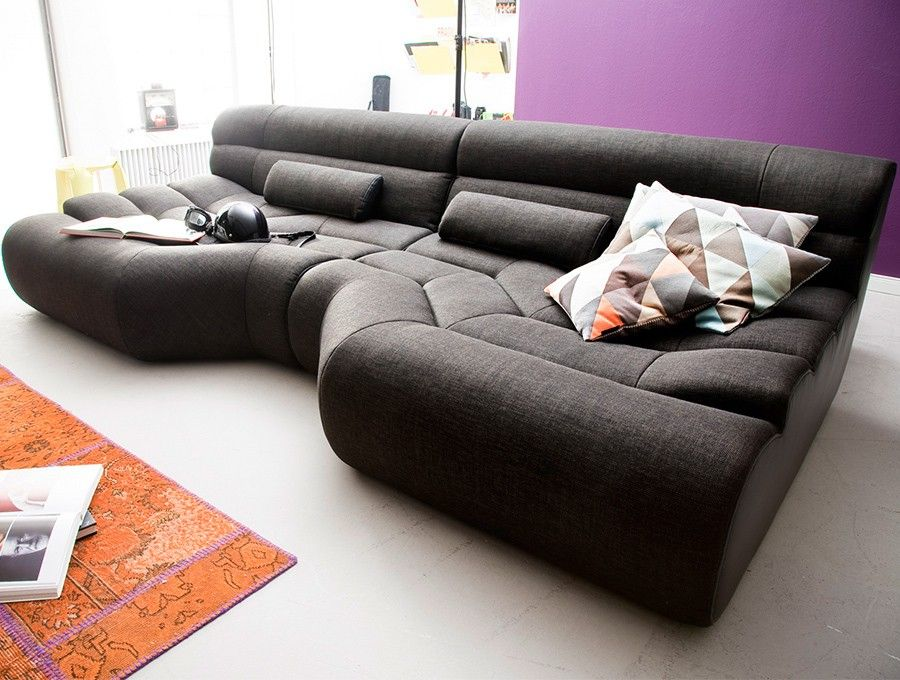 Xxl sofa mit bettfunktion  Genial big sofa xxl | Deutsche Deko | Pinterest | Big sofas, Big ...