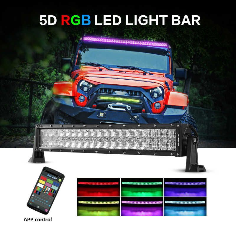 Auxbeam v series 22 inch 120w combo curved rgb led light bar 5d buy auxbeam v series 22 inch 120w combo curved rgb led light bar 5d projector lens now at bayfront shop free shipping delivery in usa aloadofball Choice Image