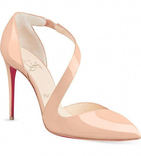 Bridal Shoes Selfridges: CHRISTIAN LOUBOUTIN - Militante 100 Patent