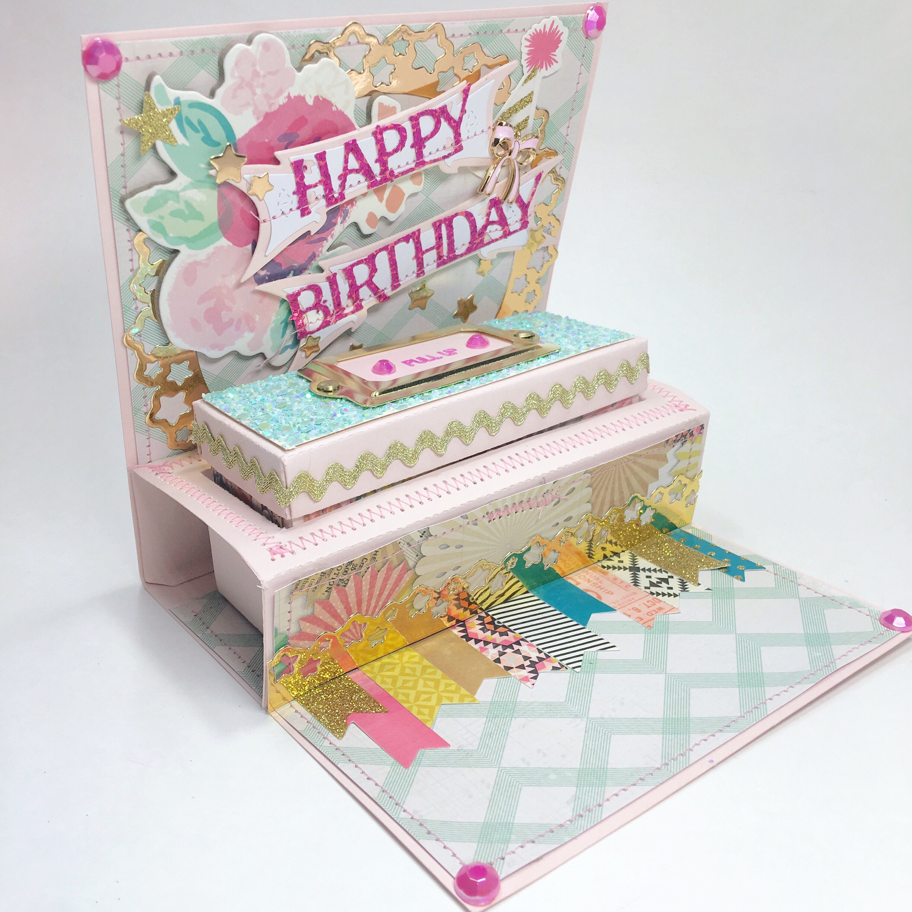 3d Birthday Card 3d Birthday Card Cards Handmade Birthday Cards