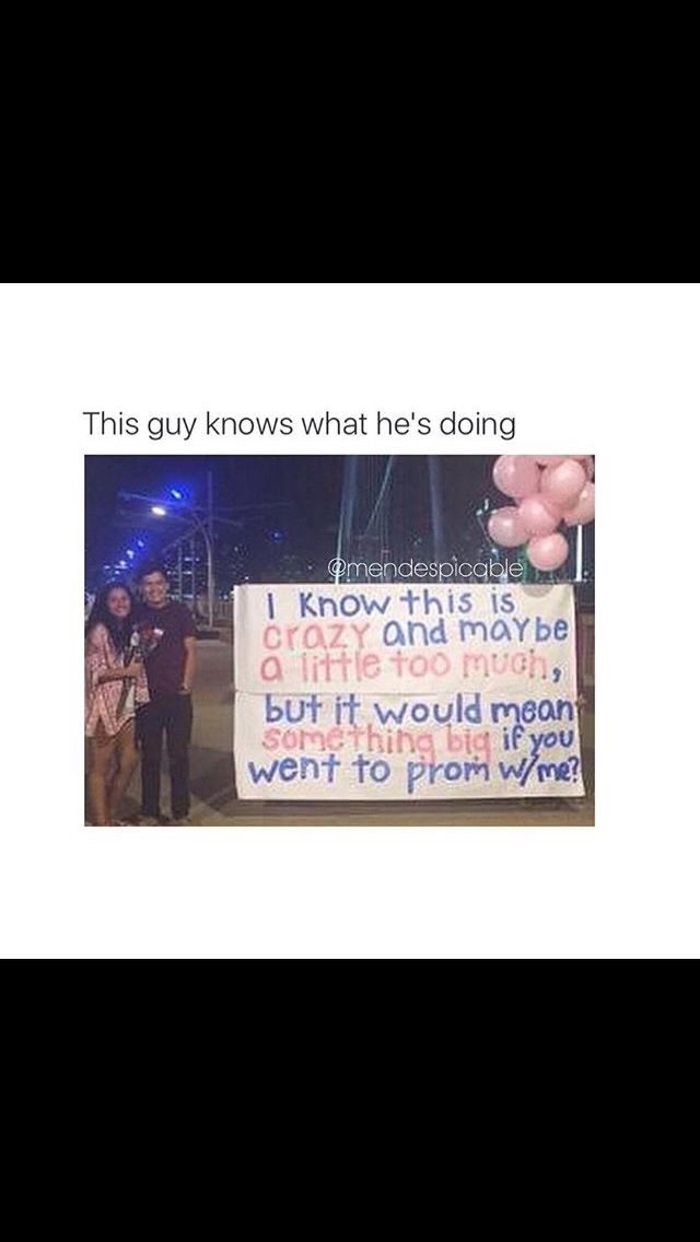 I'm not sure if they're talking about the way he asked her