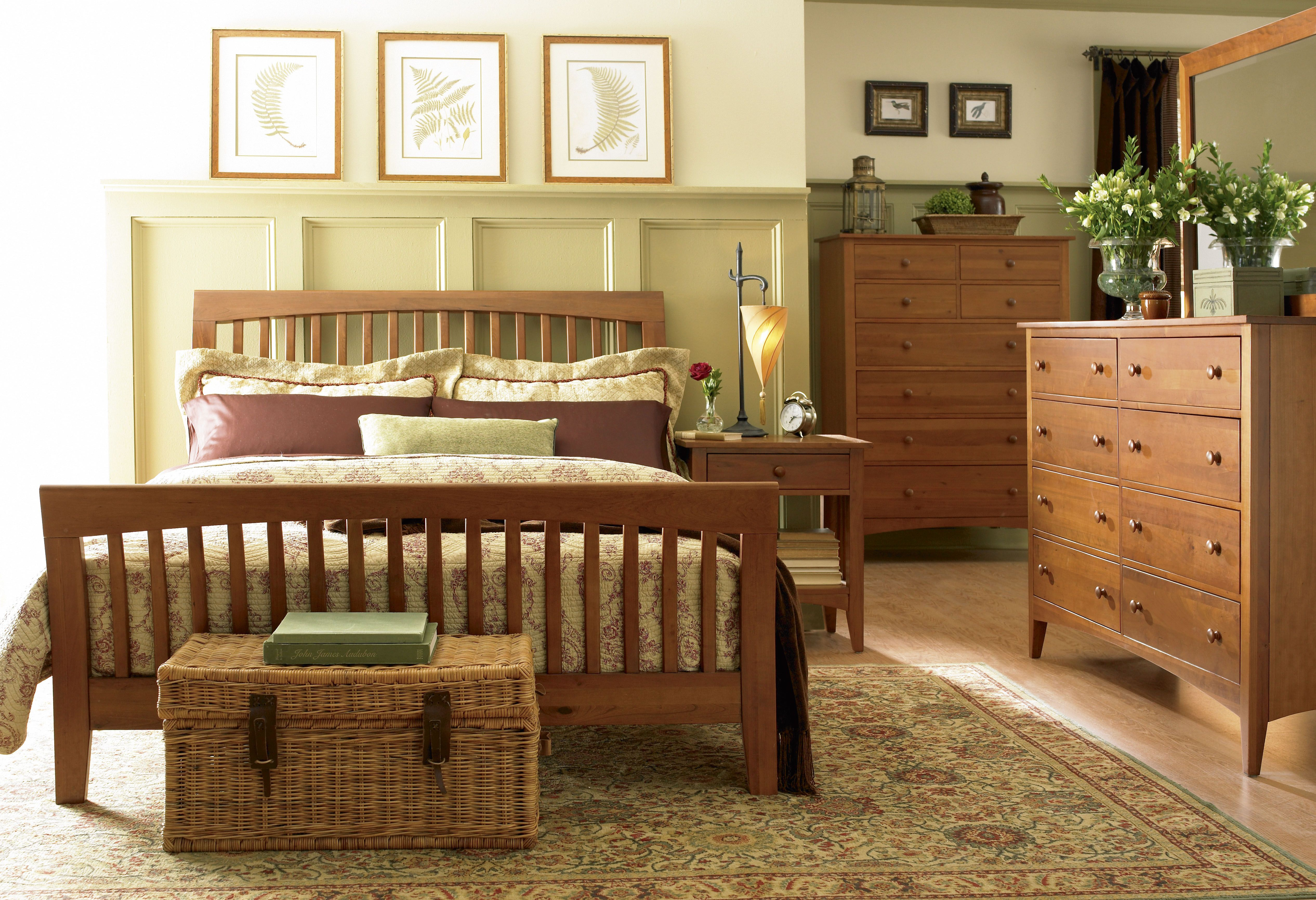 Best Slatted Sleigh Bed Tradewins Cherry Expressions Cal 400 x 300