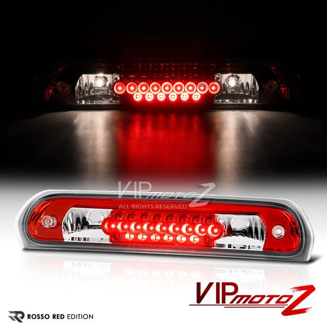 For 02 08 Dodge Ram Truck 1500 2500 3500 Red Led 3rd Brake Light Cargo Tail Lamp Dodge Ram Dodge Trucks Ram Dodge Ram 1500