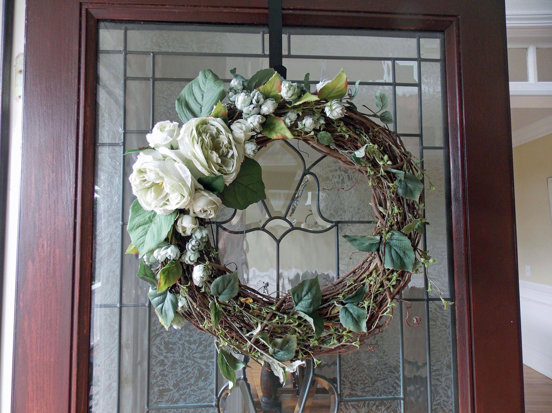 Summer Wreaths For Front Door Year Round Wreath Front Door Wreaths Floral  Wreath