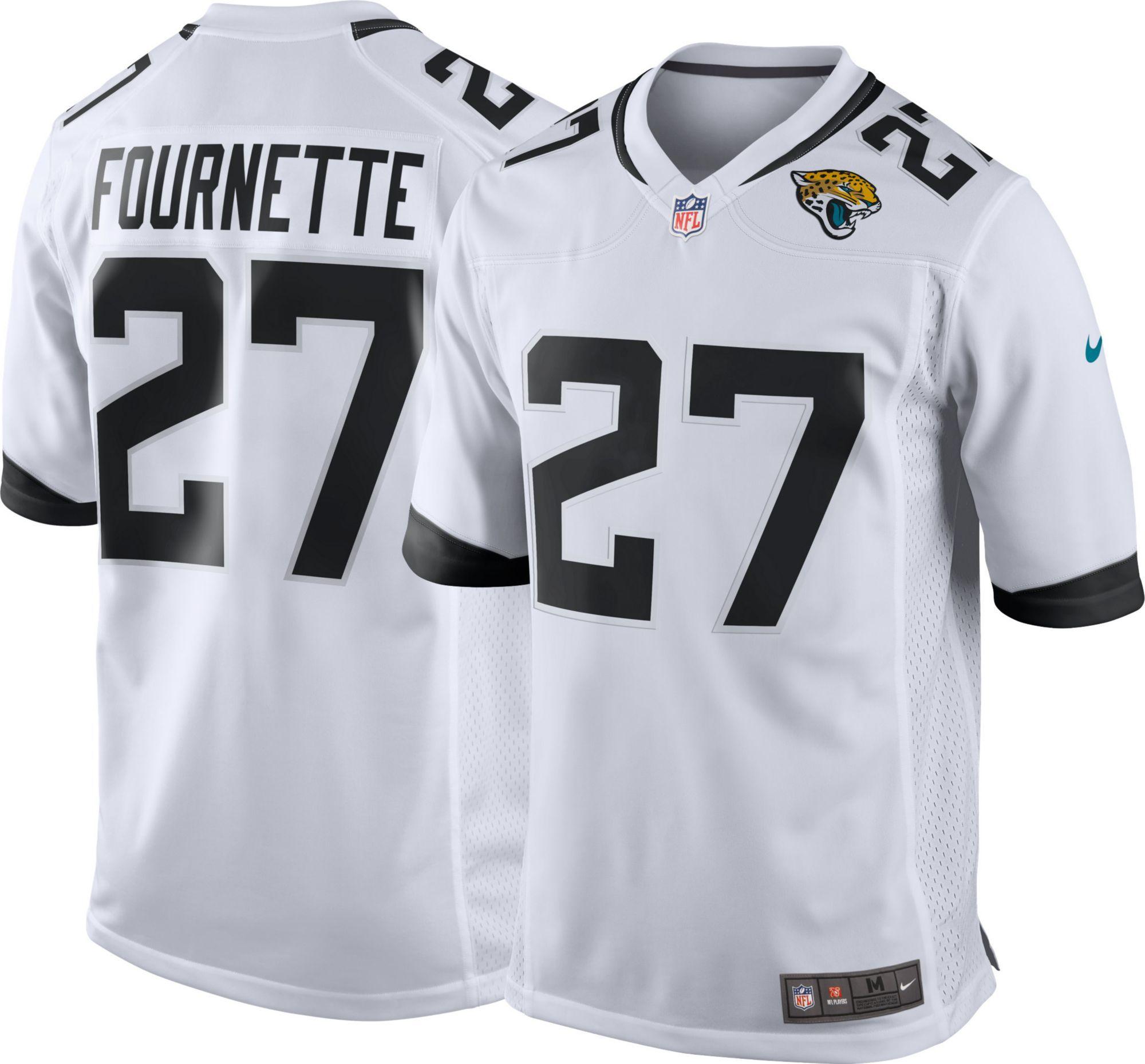 4f1f718030e Nike Men's Away Game Jersey Jacksonville Leonard Fournette #27, White