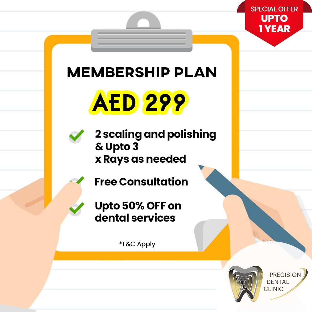 Affordable Dental Membership Plan In Dubai Precision Dental