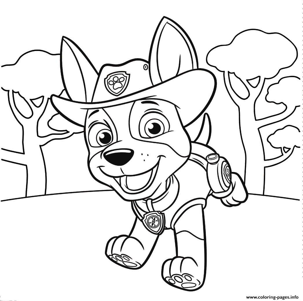 Paw patrol coloring pages printables