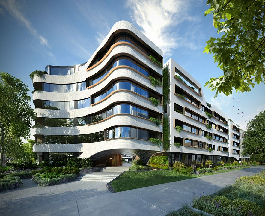 Apartment Design Exterior the organic design#dkoarchitecture for the the eve apartments