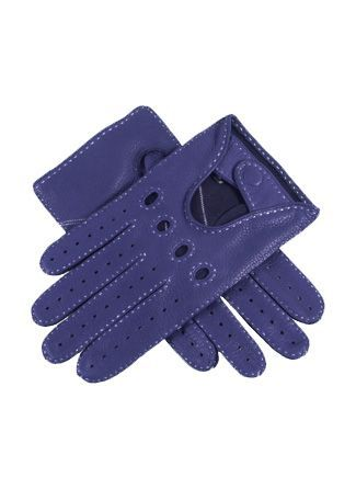 Dents deerskin leather driving gloves