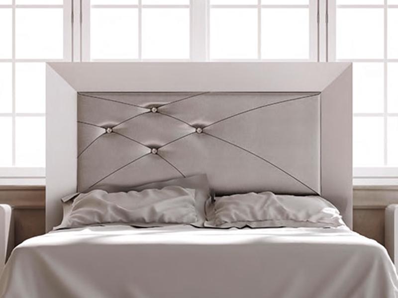 Cabecero tapizado acolchado contemporaneo decoracion for Muebles de dormitorio contemporaneo