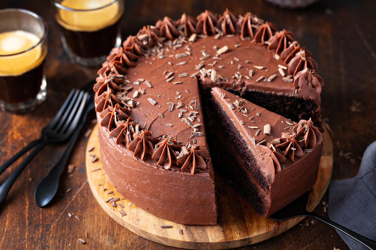 The Best Chocolate Cake Combines Cocoa And Coffee To Create A Chocolate Lover S Dream Th In 2020 Chocolate Cake Recipe Moist Chocolate Cake Recipe Best Chocolate Cake