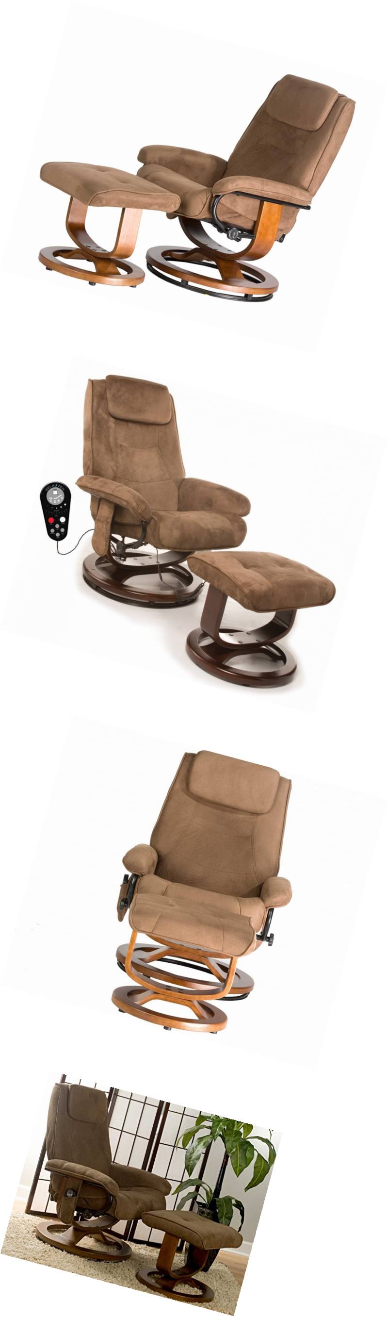 Electric Massage Chairs Leisure Recliner Chair With 8 Motor
