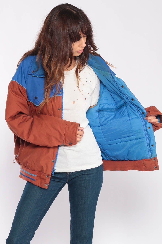 Puffy Coat Puffer Jacket Ski Jacket Retro 70s Winter Coat Etsy Jackets Ski Jacket Puffy Coat [ 1500 x 1000 Pixel ]