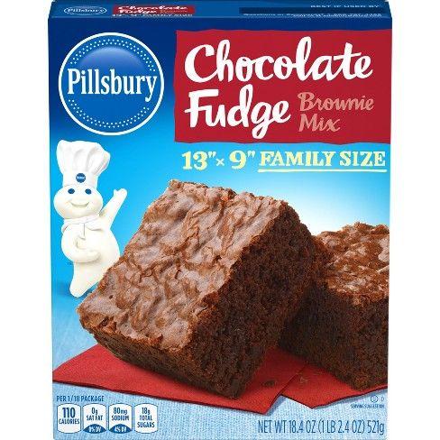 Pillsbury Chocolate Fudge Brownie Mix 19 5oz 1 Target