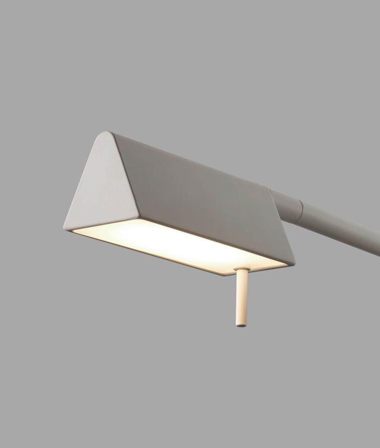 Lámpara blanca sobremesa ACADEMY LEDLámparas en de mesa hBQtsrdCx