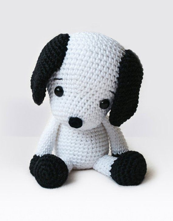 Amigurumi Crochet Dog Pattern - Flecky the Dog - Softie - Plush ...