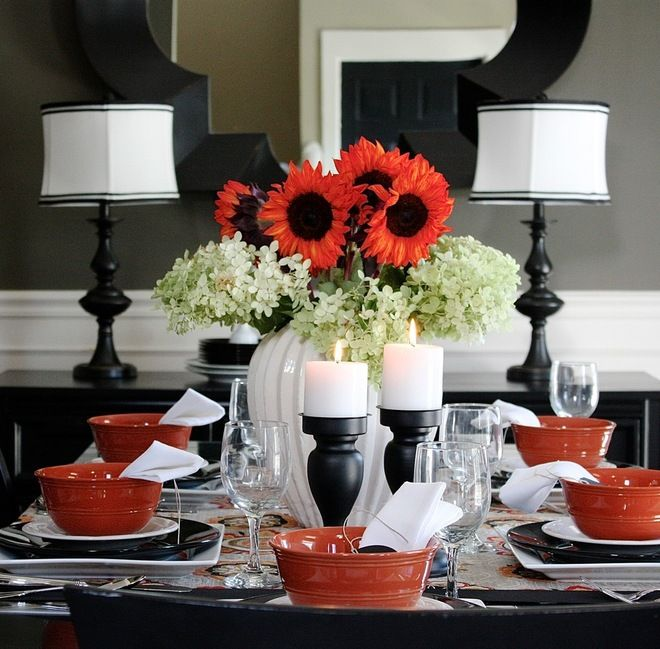 The Dining Room Walls Are Painted In Crevecoeur From Martha Stewart Living A Gray With