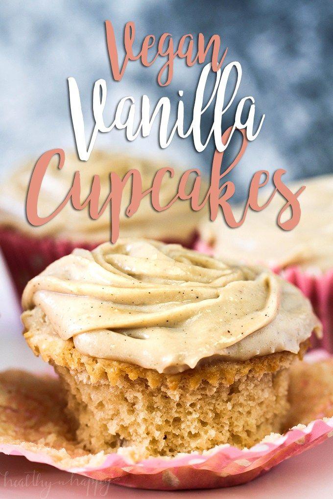 Simple Vegan Vanilla Cupcakes Sugar Free And Oil Free Recipe