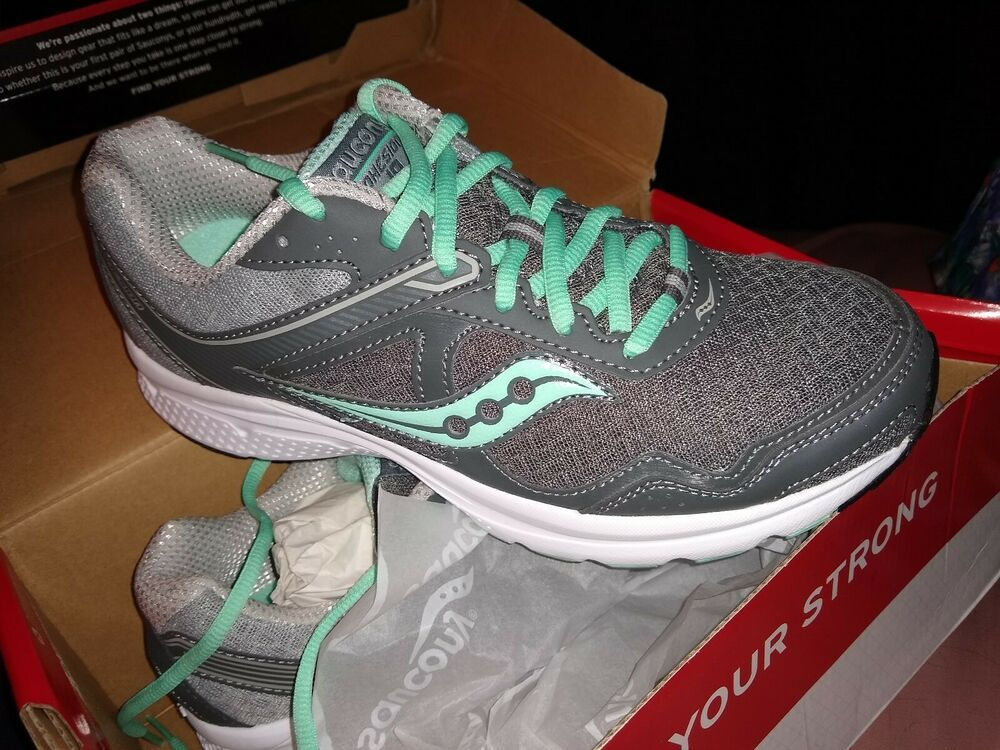 Saucony Womens Athletic Shoes, Gray