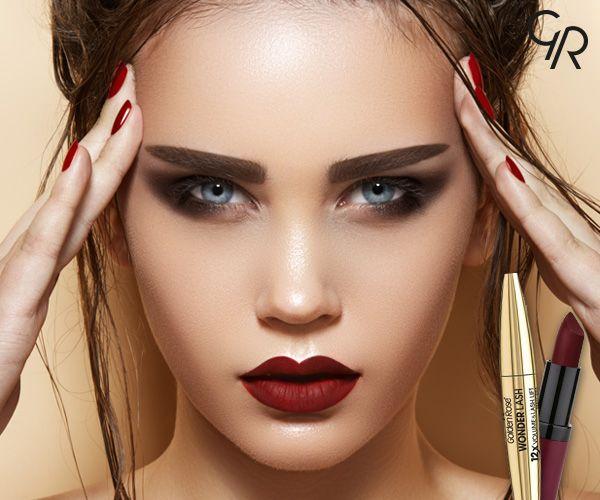 Golden Rose ile çarpıcı bakışlar, kusursuz dudaklar!