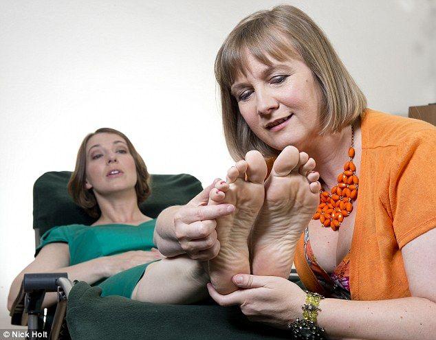 british mature feet
