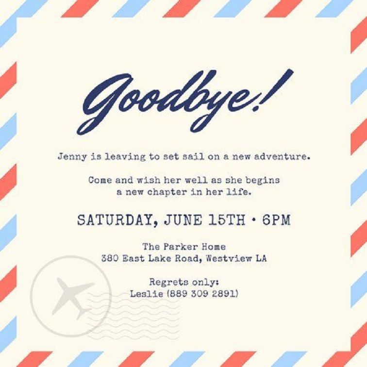 Farewell Party Invitation Ideas Party Invitation Card Farewell