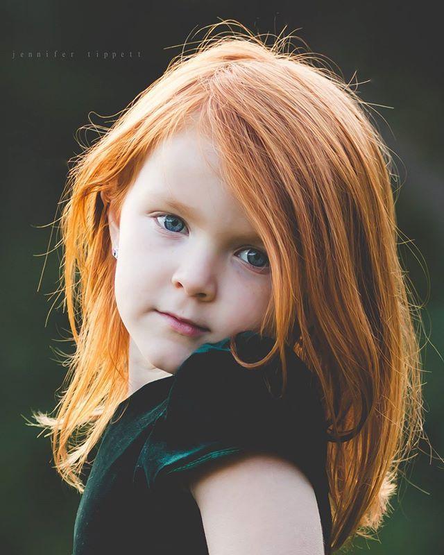 Bebe model red hair perfume redhead