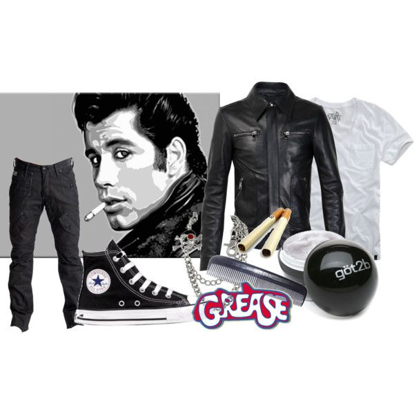 """danny zuko *GREASE* :)"" by ladywitstyle on Polyvore ..."