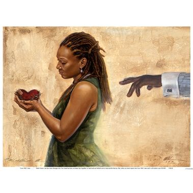 ''Love Will Come'' by WAK - Kevin A. Williams African American Art Print