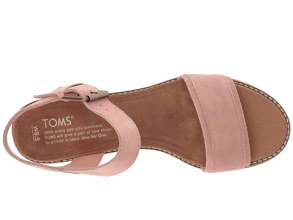 5b5b2d8c351f TOMS Camilia Women s Sandals Bloom Suede