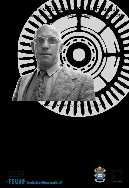 Poster for Michel Foucault Study group meeting at PONTIFICIA UNIVERSIDADE CATÓLICA SÃO PAULO BRAZIL