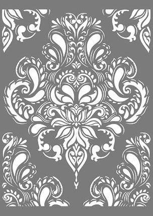 Stencil Wandschablone Streublumchen Etsy 14
