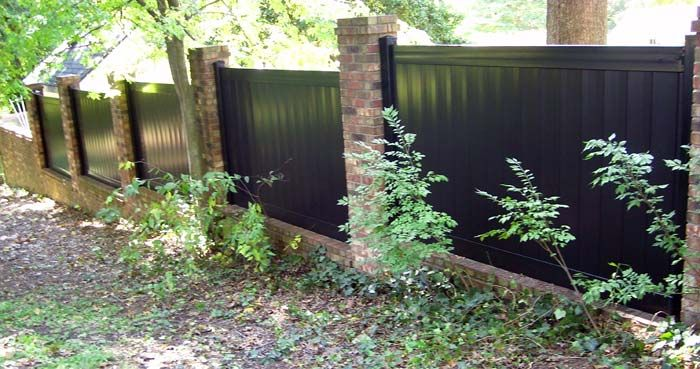 black vinyl privacy fence. Black Fencing £50 Per Metre   Home Design Pinterest Fence, Fences And Fence Panel Vinyl Privacy Y