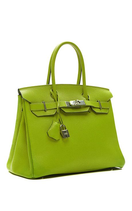 5c05041b97 30Cm Vert Anis Chevre Leather Birkin | COOL OBJECTS ETC... | Hermes ...