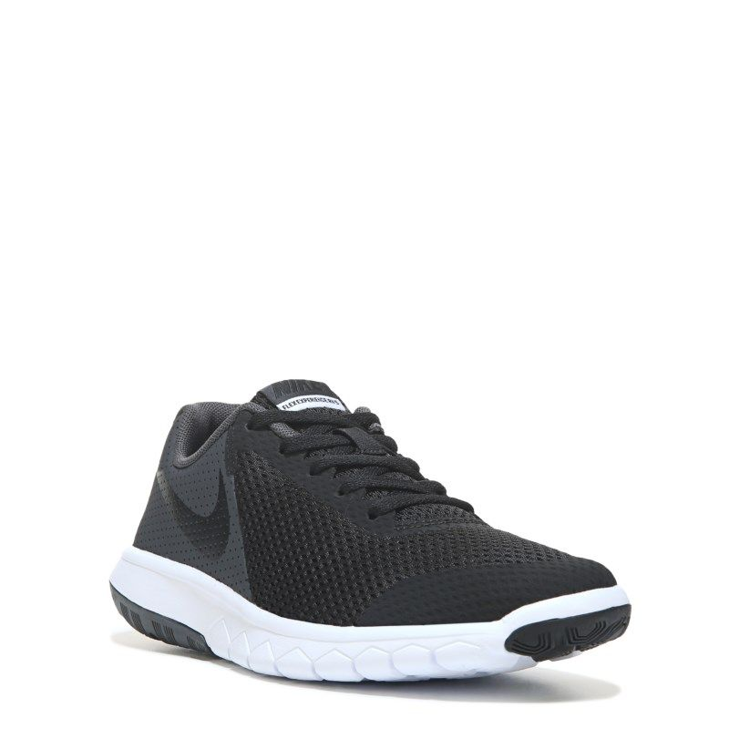 Nike Kids' Flex Experience 5 Running Shoe Grade School Shoes (Black/ Anthracite/Sil)