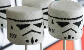 Marshmallows Star Wars #anniversaire #enfant