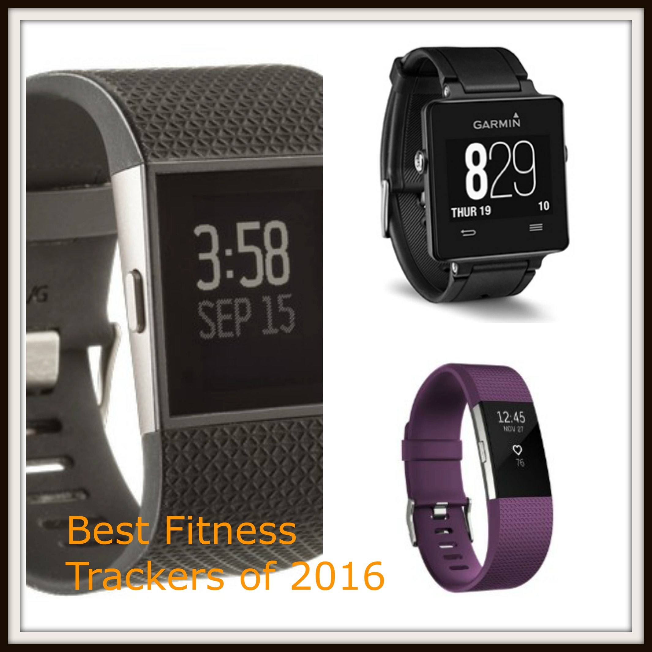 For those of you looking to exercise more, sleep better and improve your overall health in 2017, a fitness tracker may be just what you need. Here are some of the best fitness trackers of 2016.    Fitbit Charge 2- The Fitbit Charge 2 is a wrist band fitness tracker with OLED display. This
