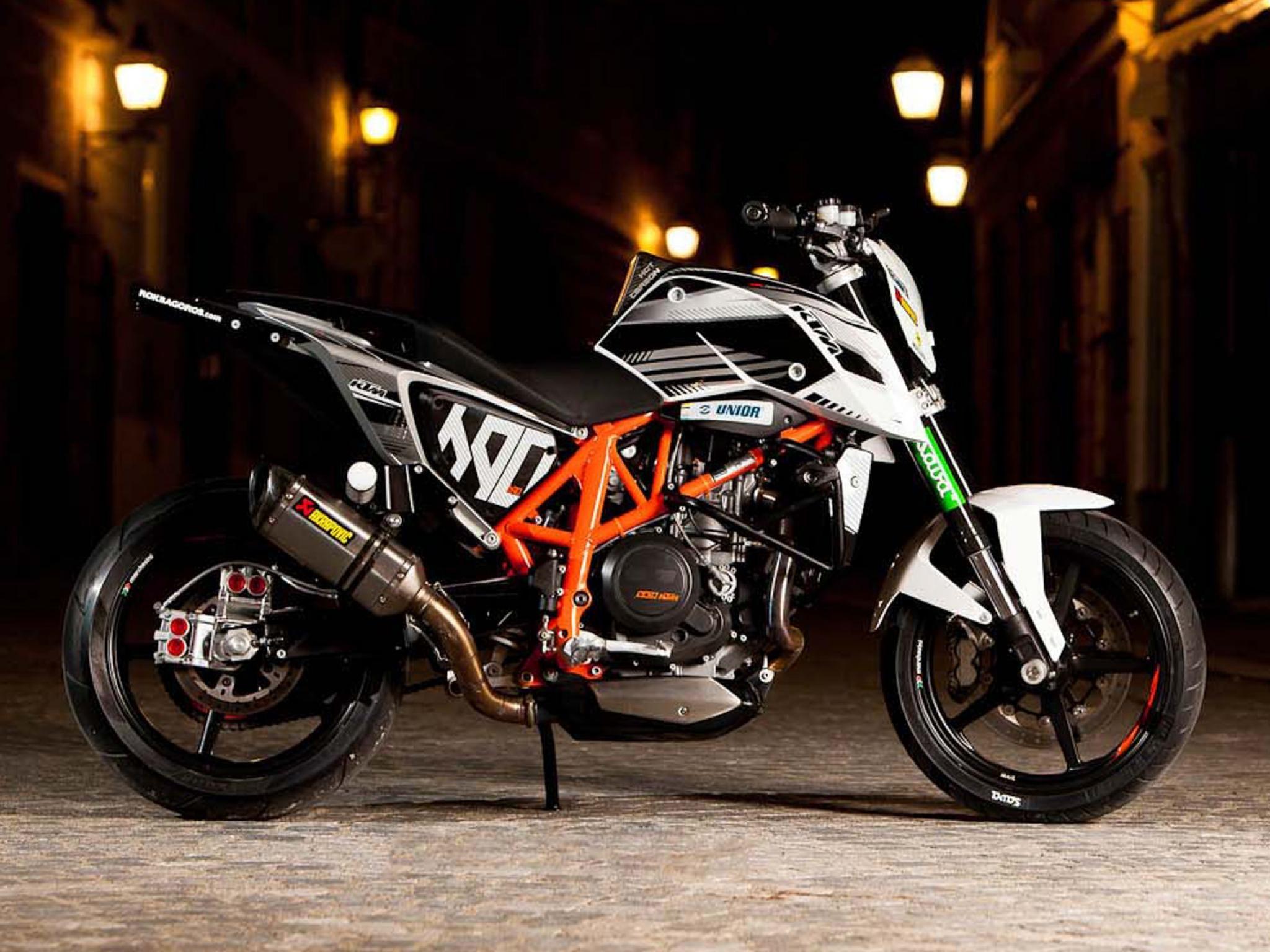 Supermoto ktm 690 stunt concept bikemotorcycletuned car tuning car - Rok Bagoro S New Ktm 690 Duke Stunt Bike